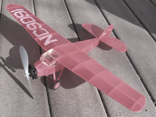 Cessna AW - completed model photo