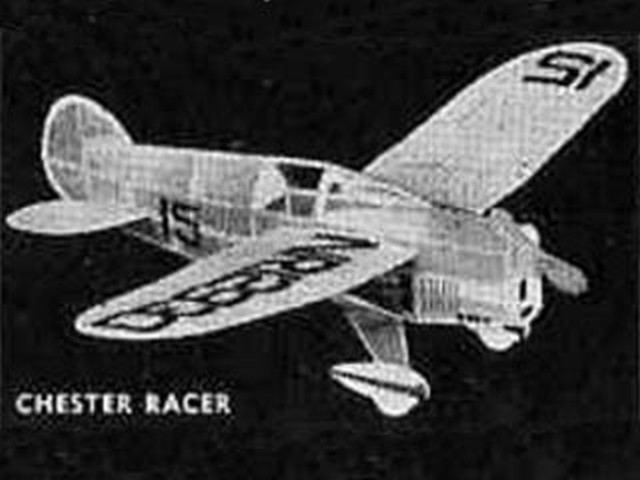 Art Chesters Racer (oz114) from Comet