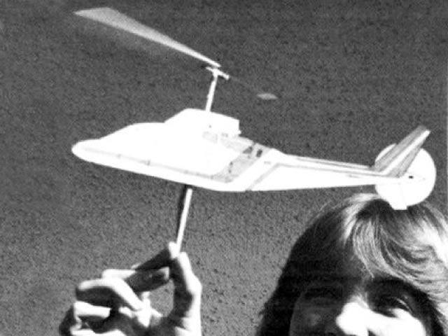 Monocopter (oz11441) by Bill Hannan from Model Airplane News 1982