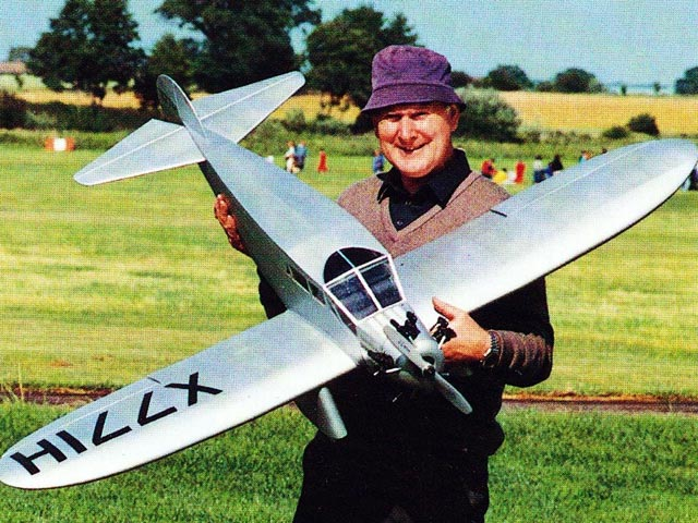 Alexander Bullet (oz11443) by Phil Kent from Radio Control Scale Aircraft 1991