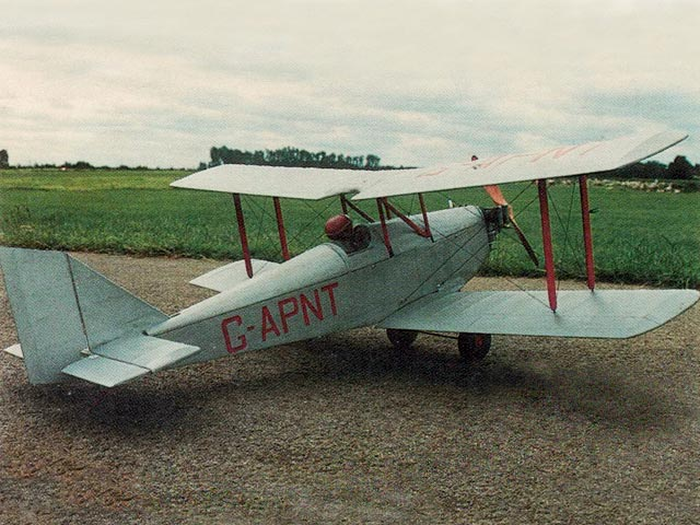 Currie Wot (oz11463) by Bob Wright from Radio Control Scale Aircraft 1991