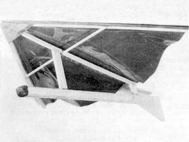 Flex Wing  (oz11505) by Unknown from Meccano Magazine 1968