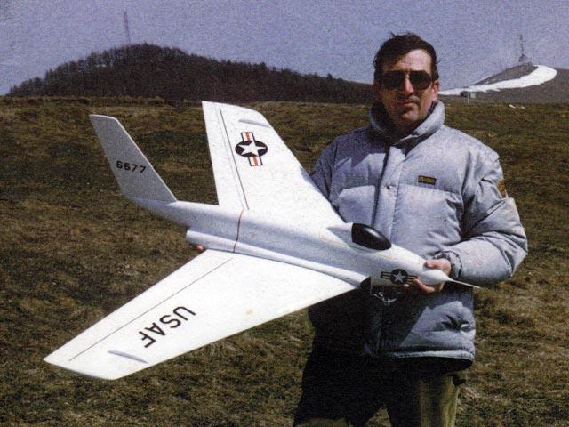 Northrop X-4 Bantam (oz11509) by Giuseppe Ghisleri from Modellismo 1997