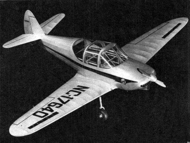 Globe Swift (oz11521) by Bill Noonan from Air Trails 1946