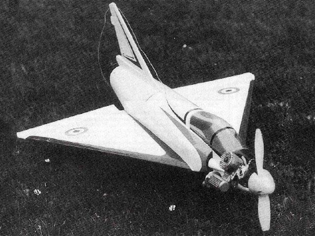 Mirage 2000 (oz11530) by John Rutter from Radio Modeller 1989
