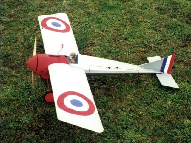 Morane Saulnier Type N (oz11544) by Peter Rake from Flying Scale Models