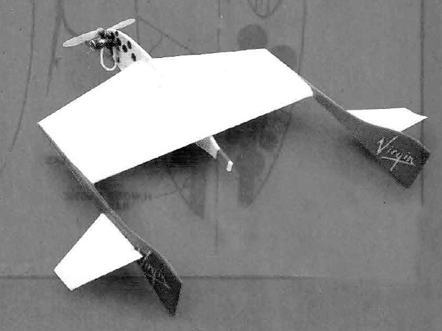 Rutan Starship One (oz11575) by John Kay from Model Flyer