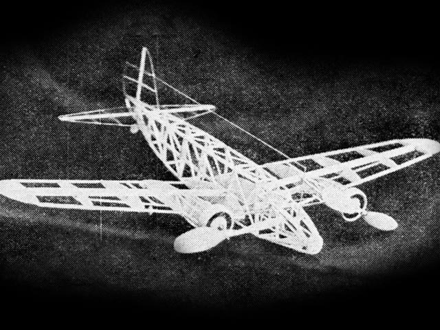 Boeing 247 (oz11592) by W Durant from Model Airplane News 1934