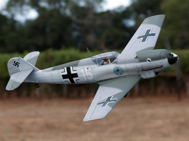 Messerschmitt Bf 109 (oz11595) by Paul Kohlmann from Model Aviation 2016