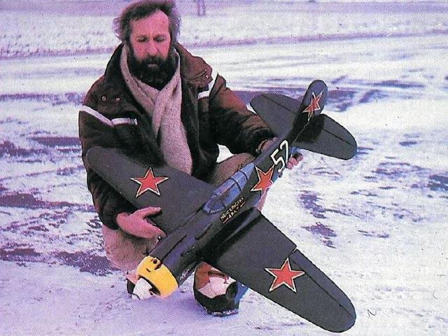 Lavochkin LA-5 FN (oz11627) by Pavel Bosak from RCMW 1987