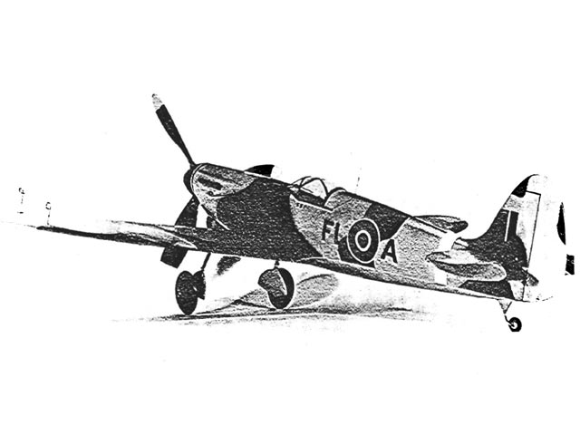 Spitfire IX (oz11630) by Dick Struhl from Mechanix Illustrated 1941