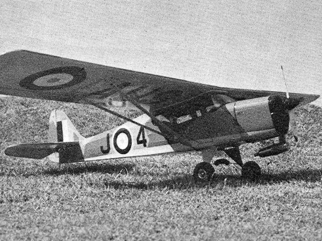 Taylorcraft Auster J4 (oz11637) by Mick Harris from Complete-a-Pac 1975
