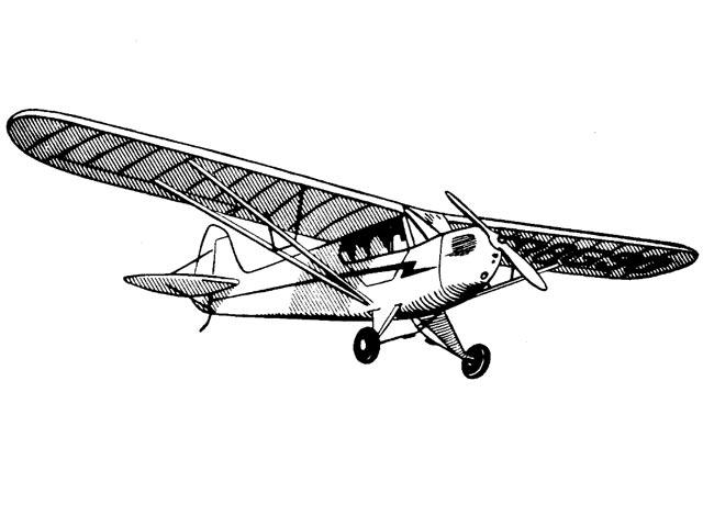 Piper Cub - oz11660