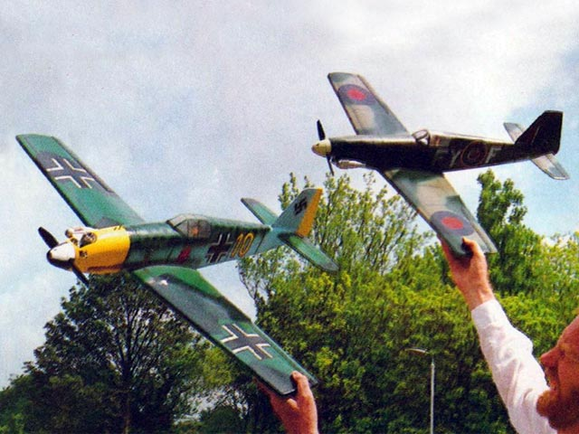 Quickfire and Blitzjaeger (oz11678) by Clive Smalley from Radio Modeller 1987