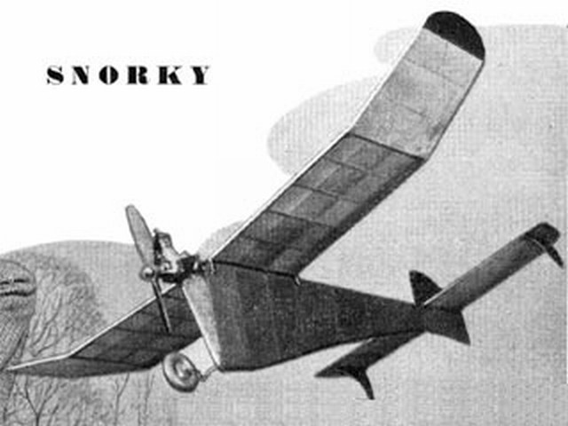 Snorky (oz1168) by Gordon Rae from Aeromodeller 1951