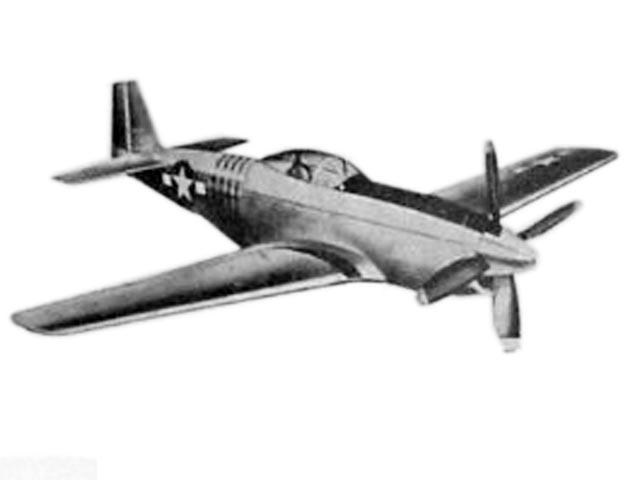 P-51 Mustang (oz11687) by Bill Effinger from Berkeley 1946