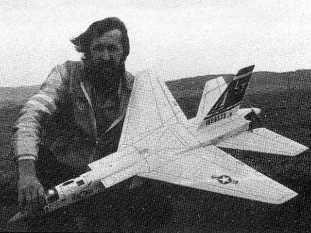 A-5A Vigilante (oz11693) by Pavel Bosak from RC Model World 1987