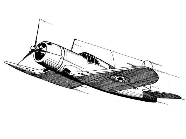 XF4U-1 (oz11696) from Ace Whitman 1941