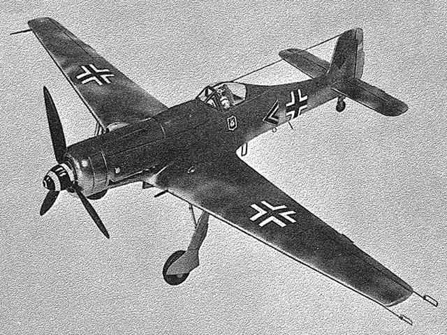 Focke-Wulf TA 152 H-1 (oz11699) from Graupner 1959