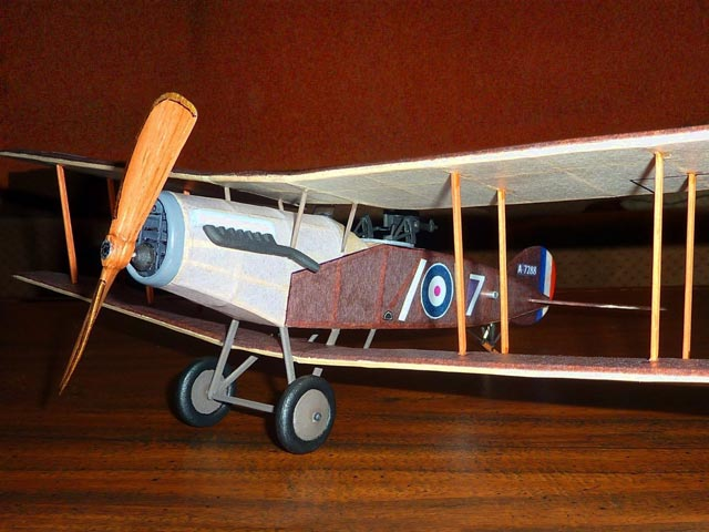 Bristol F2B (oz117) from Comet