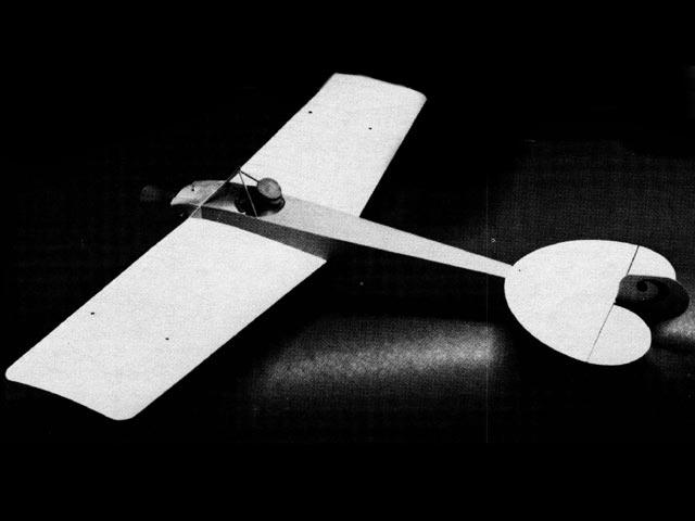 Nieuport Monoplane (oz11710) by Bill Hannan from Model Aviation 1976