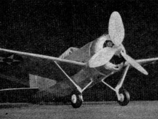 Brewster F2A-1 (oz1173) by Manley Mills from Flying Aces 1940