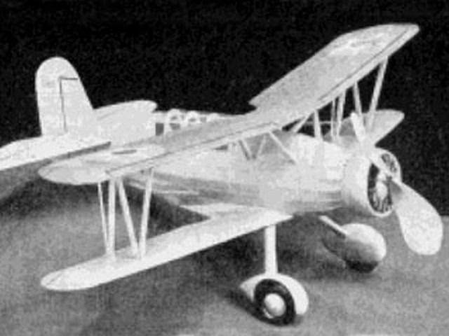 Curtiss SOC-1 Navy Scout (oz1174) by Bill Winter from Model Airplane News 1936