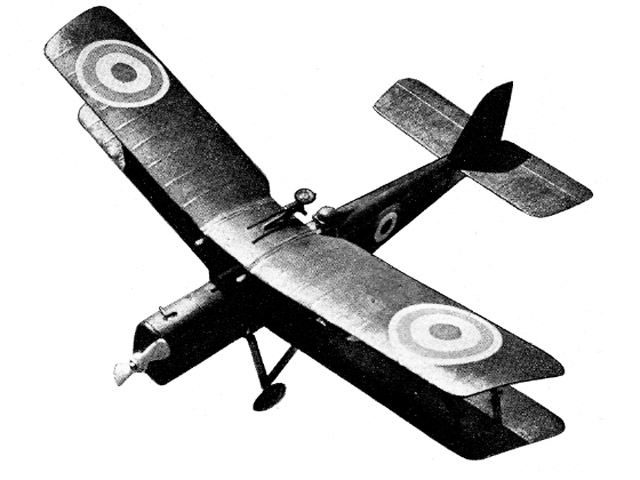 SE5 (oz11740) by P Lambert from Model Aircraft 1957