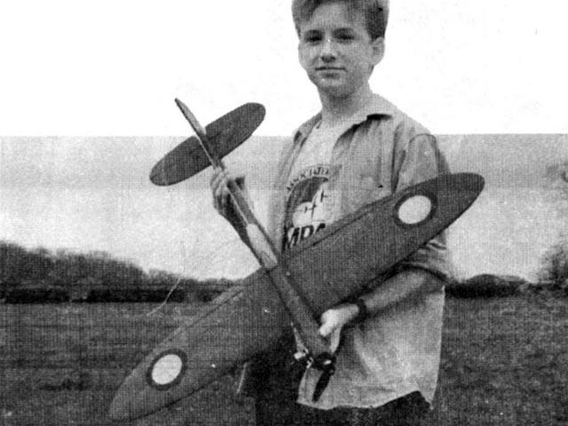 Projed Spitfire (oz11756) by David Boddington from Model Pilot