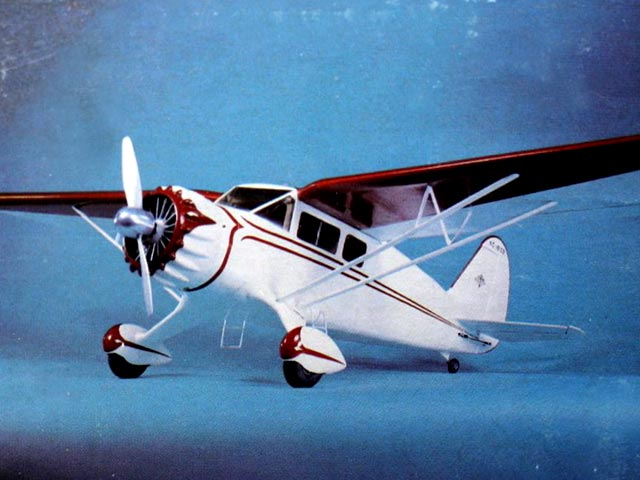 Stinson Reliant SR-6 (oz11765) from GS Scale Products 1977