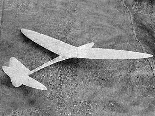 Monocoque Sailplane (oz11768) by Gordon Light from Air Trails 1937