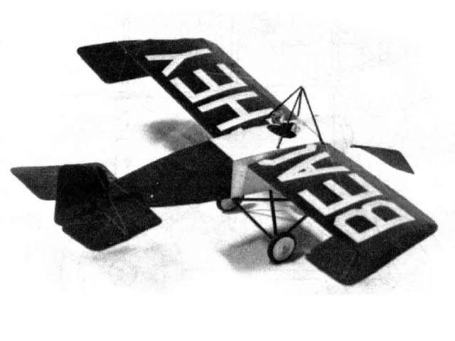 Lincoln Beachey Monoplane (oz11784) by Hoby Clay from Model Builder 1984