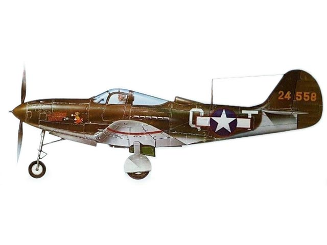P-39 Airacobra (oz11792) from Top Flite 1980