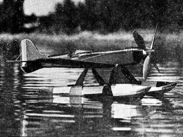 Macchi-Castoldi MC 72 (oz11795) by CL Bristol from Model Airplane News 1934