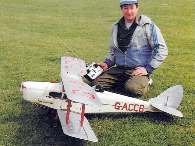 DH83 Fox Moth (oz11805) by Malcolm Harding from Radio Control Scale Aircraft 1993