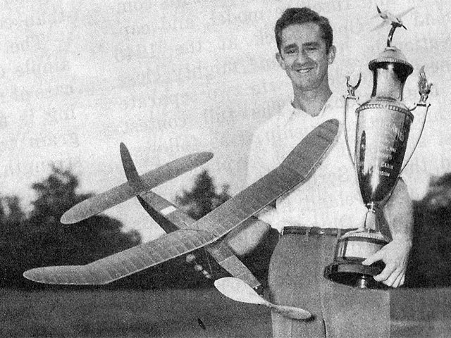 Nationals Fuselage Winner (oz11808) by George Reich from Model Aircraft Plan Book 1947