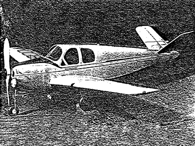 Beechcraft Bonanza - oz11846