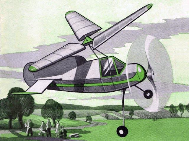 Rotator IV (oz11912) by LB Mawby from Aeromodeller 1940