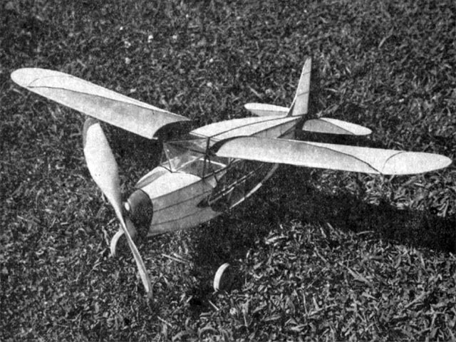 Fairchild 24 (oz11926) by Joe Ott from Popular Aviation 1932
