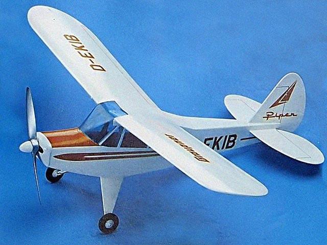 Piper PA-18 Super Cub (oz11930) from Graupner 1973