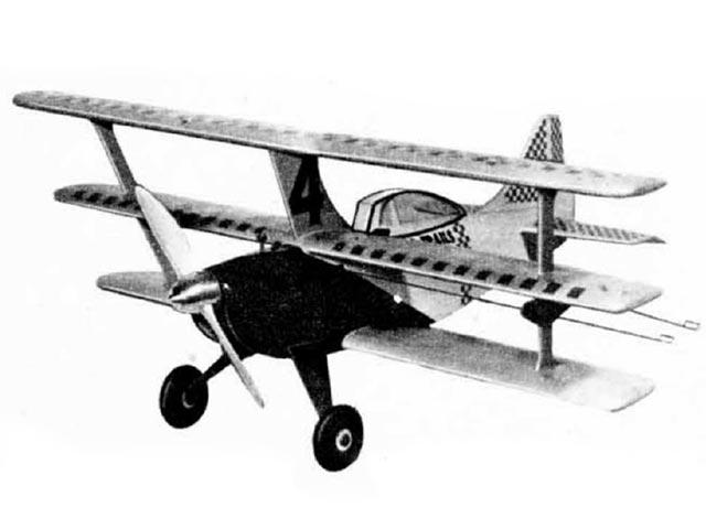 Bouncing Bertie (oz11954) by Paul Palanek from Air Trails 1952