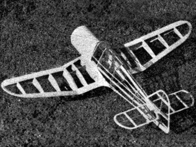 Miles Master II (oz11958) by WR Jones from Aeromodeller 1941