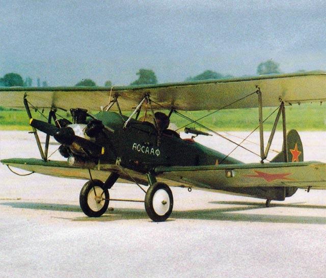 Polikarpov Po-2 (oz11980) by Jack Elson from Radio Modeller 1986