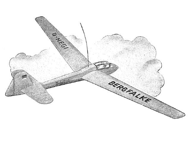 BergFalke 150 (oz12003) by Hans Mayer from Hegi 1960