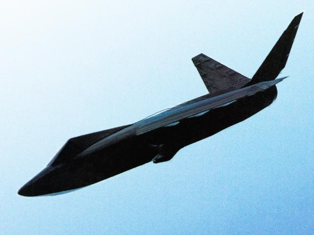 Stealth-E (oz12027) by Jeff Holan from Model Airplane News 1993