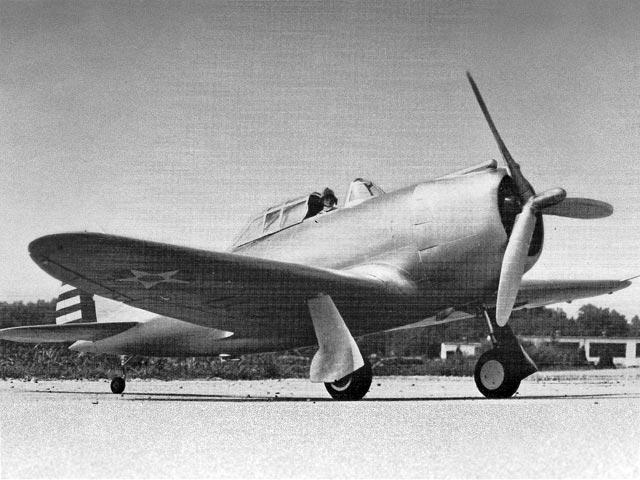 P-43 Lancer (oz12035) by Art Johnson from Model Builder 1983