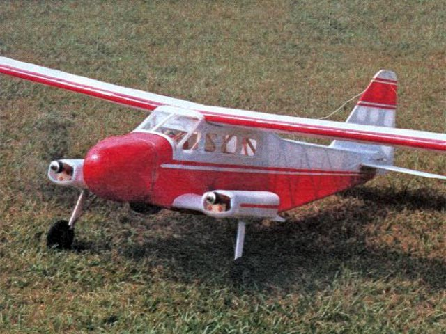 Dornier DO-28 (oz12045) by Roy Day from Model Builder 1991