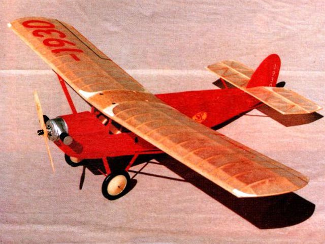 ALCO Sportplane (oz12048) by RG Schmitt from Model Builder 1991