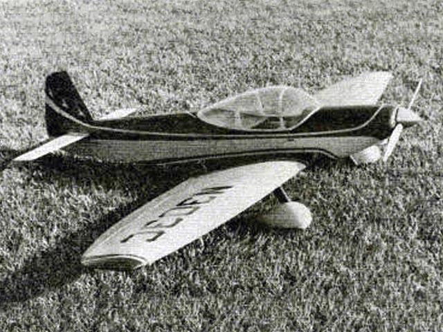 Piel Emeraude (oz12053) by Bob Morse from American Aircraft Modeler 1969
