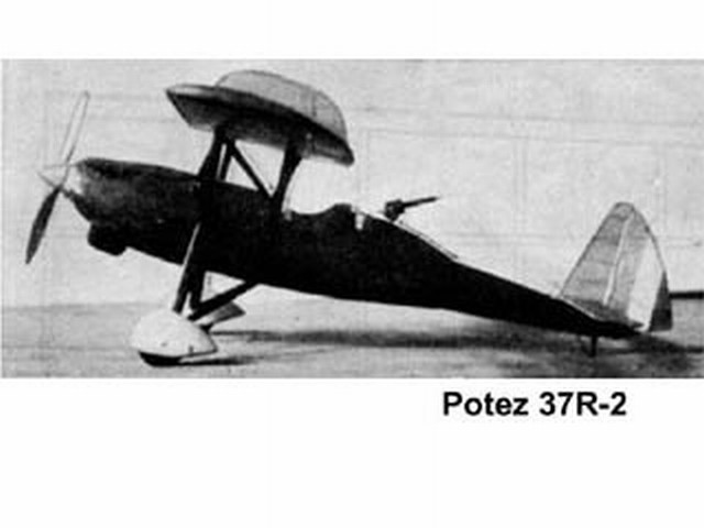 Potez 37R-2  (oz1212) by Nick Limber from Model Airplane News 1936